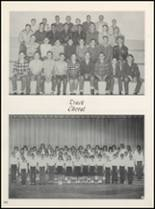 1963 Clyde High School Yearbook Page 110 & 111