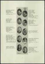1924 Central High School Yearbook Page 20 & 21