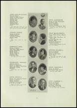 1924 Central High School Yearbook Page 22 & 23