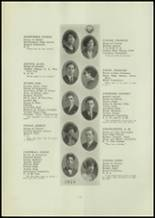 1924 Central High School Yearbook Page 24 & 25