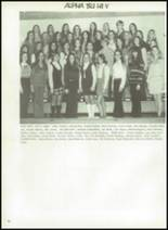 1972 Lanier High School Yearbook Page 70 & 71