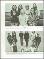 1972 Lanier High School Yearbook Page 72 & 73