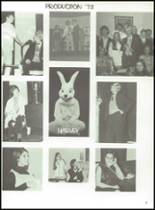 1972 Lanier High School Yearbook Page 100 & 101