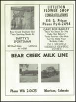1956 Bear Creek High School Yearbook Page 94 & 95