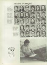 1972 South Grand Prairie High School Yearbook Page 74 & 75