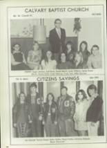 1972 South Grand Prairie High School Yearbook Page 210 & 211