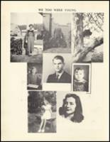 1950 Mineral Springs High School Yearbook Page 12 & 13