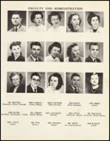 1950 Mineral Springs High School Yearbook Page 14 & 15