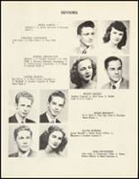 1950 Mineral Springs High School Yearbook Page 18 & 19