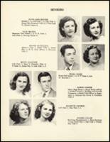 1950 Mineral Springs High School Yearbook Page 20 & 21