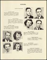 1950 Mineral Springs High School Yearbook Page 22 & 23