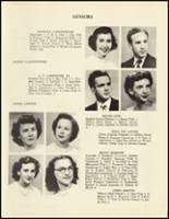 1950 Mineral Springs High School Yearbook Page 24 & 25