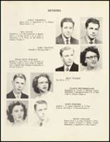 1950 Mineral Springs High School Yearbook Page 28 & 29