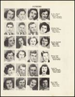 1950 Mineral Springs High School Yearbook Page 46 & 47