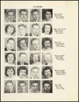 1950 Mineral Springs High School Yearbook Page 48 & 49