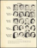 1950 Mineral Springs High School Yearbook Page 50 & 51