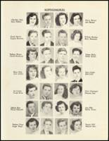 1950 Mineral Springs High School Yearbook Page 54 & 55