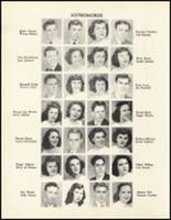1950 Mineral Springs High School Yearbook Page 56 & 57