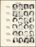 1950 Mineral Springs High School Yearbook Page 62 & 63