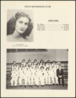 1950 Mineral Springs High School Yearbook Page 96 & 97