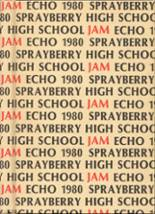1980 Yearbook Sprayberry High School