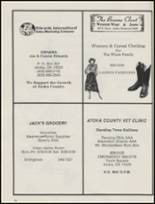 1987 Stringtown High School Yearbook Page 46 & 47