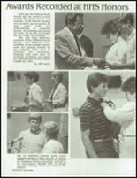 1985 Holdrege High School Yearbook Page 100 & 101