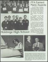 1985 Holdrege High School Yearbook Page 110 & 111