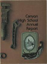 1975 Yearbook Canyon High School