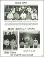 1992 North Smithfield Junior-Senior High School Yearbook Page 108 & 109