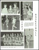 1992 North Smithfield Junior-Senior High School Yearbook Page 134 & 135