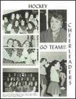 1992 North Smithfield Junior-Senior High School Yearbook Page 136 & 137
