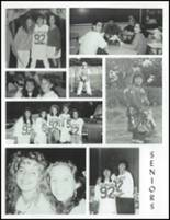 1992 North Smithfield Junior-Senior High School Yearbook Page 142 & 143