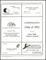 1992 North Smithfield Junior-Senior High School Yearbook Page 158 & 159