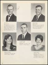 1970 Felt High School Yearbook Page 16 & 17