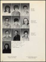 1970 Felt High School Yearbook Page 24 & 25