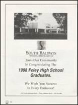 1998 Foley High School Yearbook Page 208 & 209