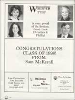 1998 Foley High School Yearbook Page 216 & 217