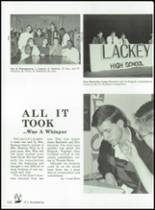 1992 Lackey High School Yearbook Page 166 & 167