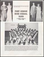 1976 Ft. Gibson High School Yearbook Page 100 & 101