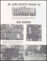 1976 Ft. Gibson High School Yearbook Page 124 & 125