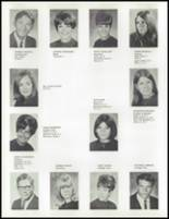 1968 Davis High School Yearbook Page 54 & 55