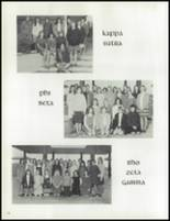 1968 Davis High School Yearbook Page 126 & 127