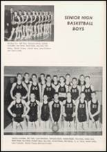 1957 Broken Bow High School Yearbook Page 70 & 71