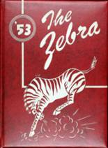 1953 Yearbook Claremore High School