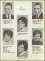 1963 New Harmony High School Yearbook Page 16 & 17