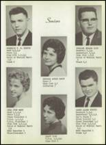 1963 New Harmony High School Yearbook Page 18 & 19