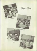 1963 New Harmony High School Yearbook Page 20 & 21
