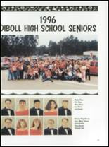 1996 Diboll High School Yearbook Page 20 & 21