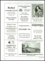 1996 Diboll High School Yearbook Page 130 & 131